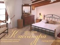 Металлическая кровать Кассандра 2