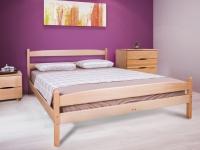 Кровать деревянная Ликерия с изножьям