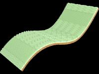 Матрас мини топпер Green Kokos