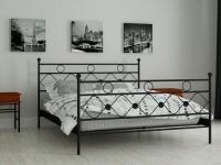 Металлическая кровать Бриана